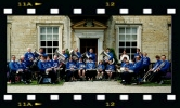 Bilsdale Silver Band with Kirkbymoorside Guests, Nunnington Hall, ca 1992