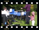Band at Rievaulx Terraces 2010, with Jack Haslam assisting Dick Blackford