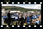 Bilsdale Silver Band at Bilsdale Show, 2010