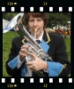 Cathy Rowling on tenor horn
