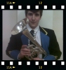 Luke on tenor horn