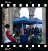 Band playing carols at Rievaulx Abbey, 2009 (photo courtesy of Yvonne Benn)