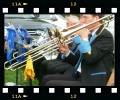 Precision parallel trombones at Farndale Show 2011;  photo courtesy of Phil Edwards
